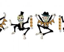 Dancing Skeleton Row