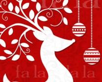 Deer w tree antlers emboss website