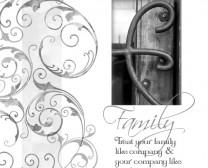 Treat Your Family Like Company