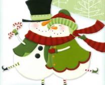 Snowman Dancing couple clear website