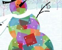 Snowman Tissue